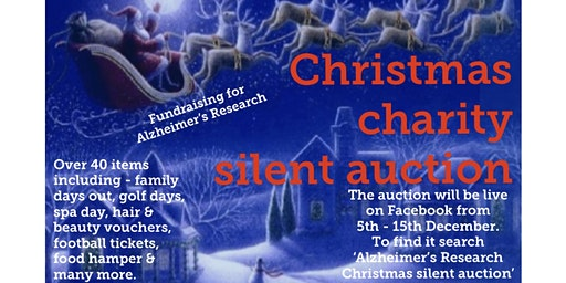 Alzheimer's Research Christmas Silent Auction