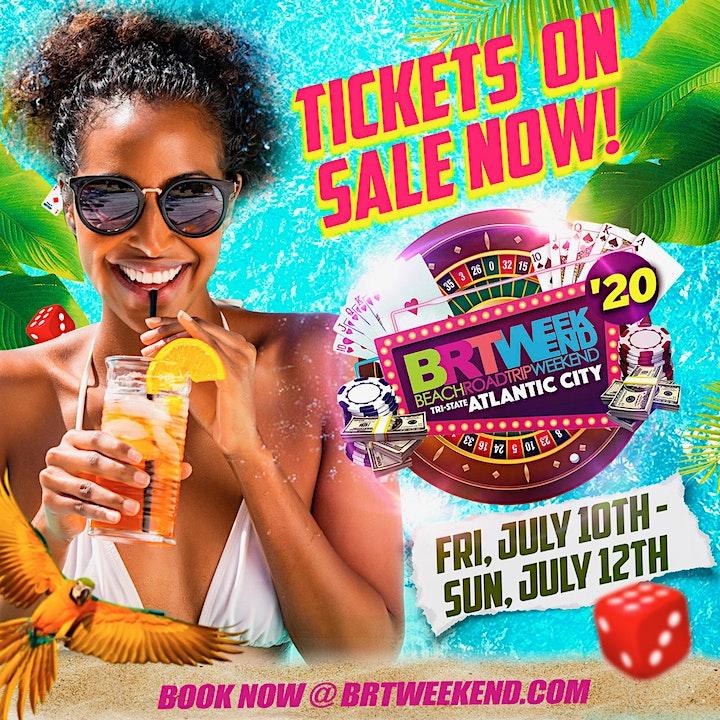 "BRT Weekend: ""Atlantic City, NJ"" Beach Music Festival   July 10th-12th 2020 image"