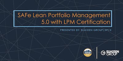 SAFe 5.0 Lean Portfolio Management with LPM Certification - Reading - August