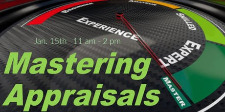 Mastering Appraisals - Free CE Class tickets
