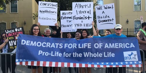 Pro-Life Democratic Rally at the Democratic Debate
