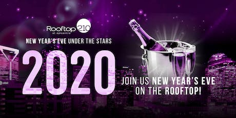 New Years Eve 2020 at Rooftop 210 tickets