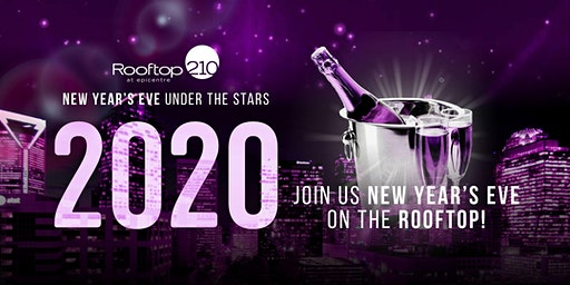 New Years Eve 2020 at Rooftop 210