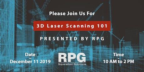 RPG's 3D Laser Scanning 101 Training Session tickets