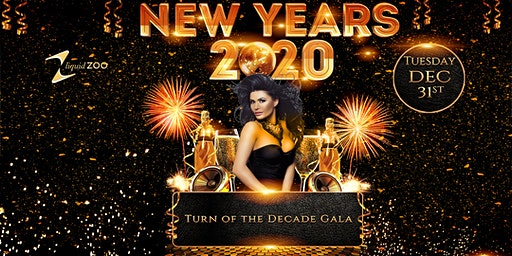 NEW YEARS 2020 ~ TURN OF THE DECADE GALA