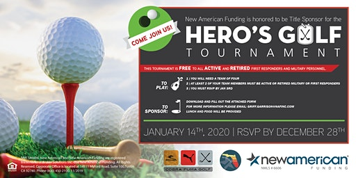 2020 Hero's Golf Tournament