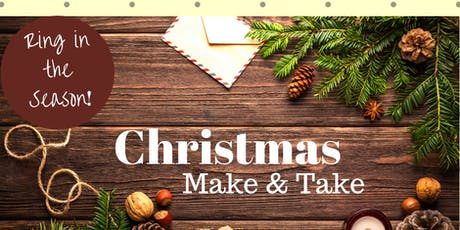 Christmas Make and Take #3: Open House tickets
