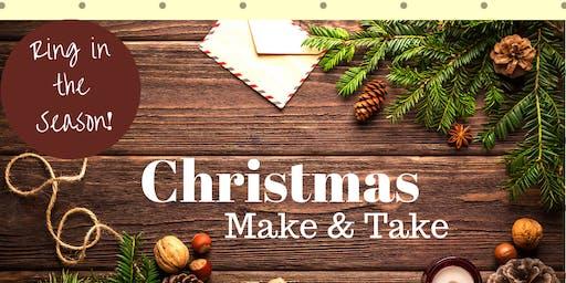 Christmas Make and Take #3: Open House