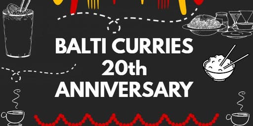 Balti Curries 20th Anniversary / Fundraiser for Helston Lions Club