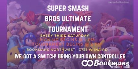 Super Smash Bros. Saturday Ultimate Tournament tickets