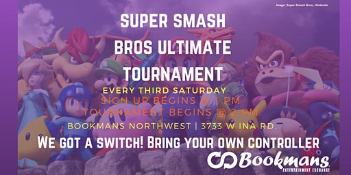 Super Smash Bros. Saturday Ultimate Tournament