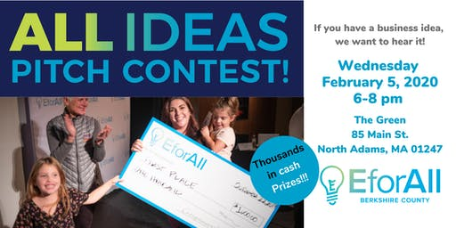 EforAll Berkshire County All Ideas Pitch Contest