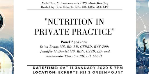 Nutrition in Private Practice
