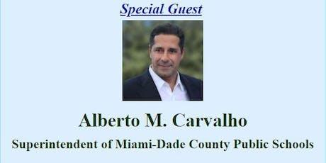 Superintendent Alberto M. Carvalho Town Hall tickets