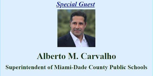 Superintendent Alberto M. Carvalho Town Hall
