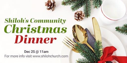Community Christmas Dinner 2019
