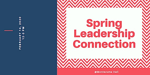 2020 SPRING LEADERSHIP CONNECTION