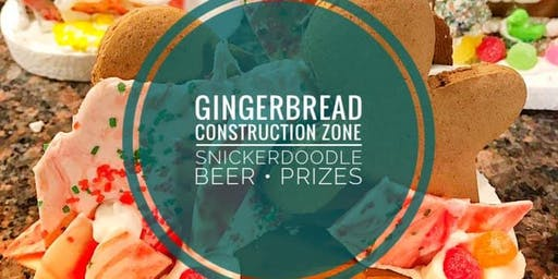Gingerbread Construction Zone Fundraiser!