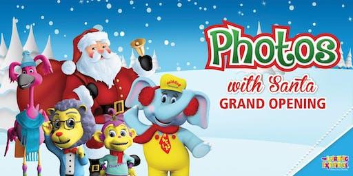Photos with Santa GRAND OPENING!