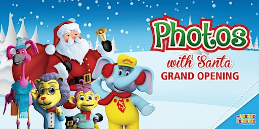 Photos with Santa GRAND OPENING!