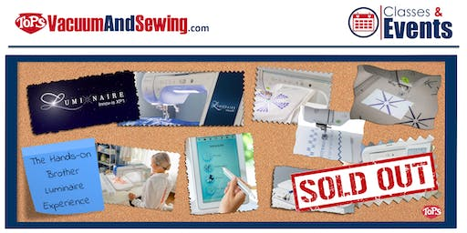 SOLD OUT! The Hands-On Brother Luminaire Experience   Palm Harbor, FL
