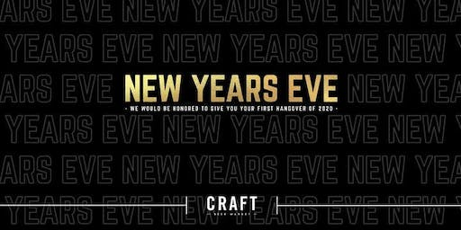 New Year's Eve at CRAFT Beer Market - Calgary Southcentre
