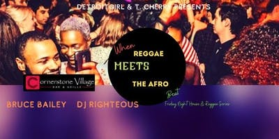 Reggae Meets the Afro Beat