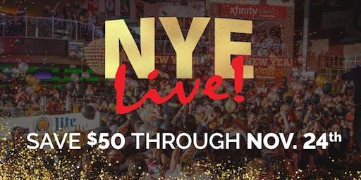 NYE Live! 2020: Philadelphia's New Year's Eve Party at Xfinity Live!