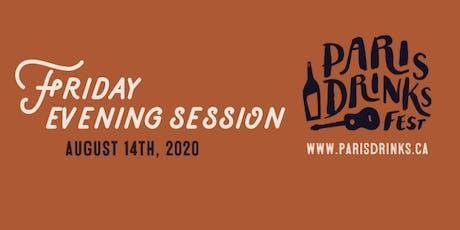 Paris Drinks Fest Friday Evening Session tickets
