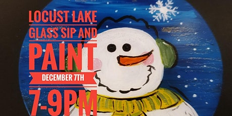 Locust Lake Sip and Paint tickets