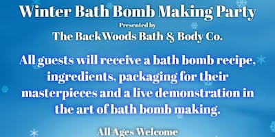 Bath Bomb Making Party
