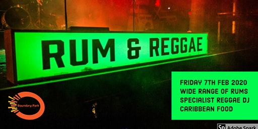Boundary Park - Rum & Reggae