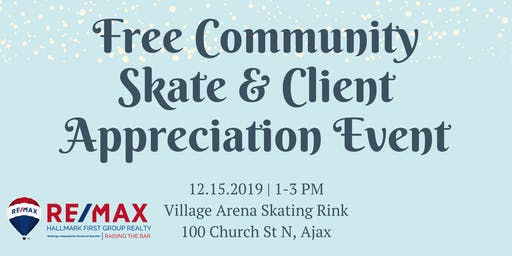 Community Skate & Client Appreciation