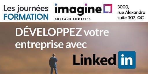 Formation Centre Imagine : Développez votre entreprise avec LinkedIn