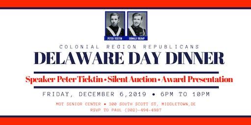 Delaware Day Dinner