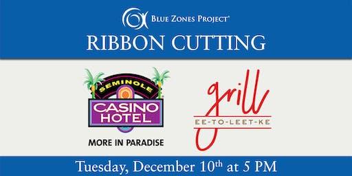 Blue Zones Project Ribbon Cutting Celebration at Seminole Casino Hotel