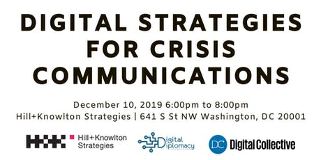 Digital Strategies for Crisis Communications tickets