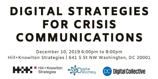 Digital Strategies for Crisis Communications