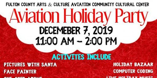 Fulton County Arts & Cultural Aviation Holiday Party