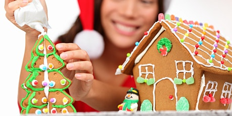 Holiday Gingerbread House Workshop tickets
