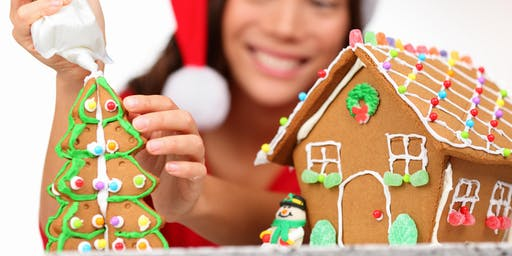 Holiday Gingerbread House Workshop