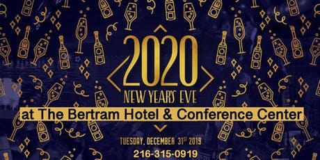 New Years Eve Cleveland BONUS 9 am hotel check in 9 pm late check out tickets