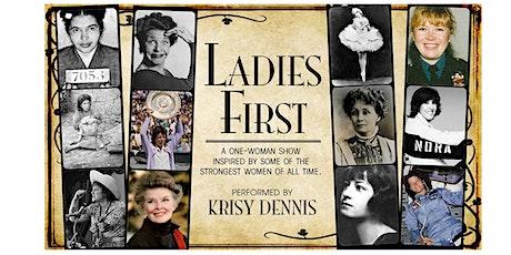 Ladies First tickets