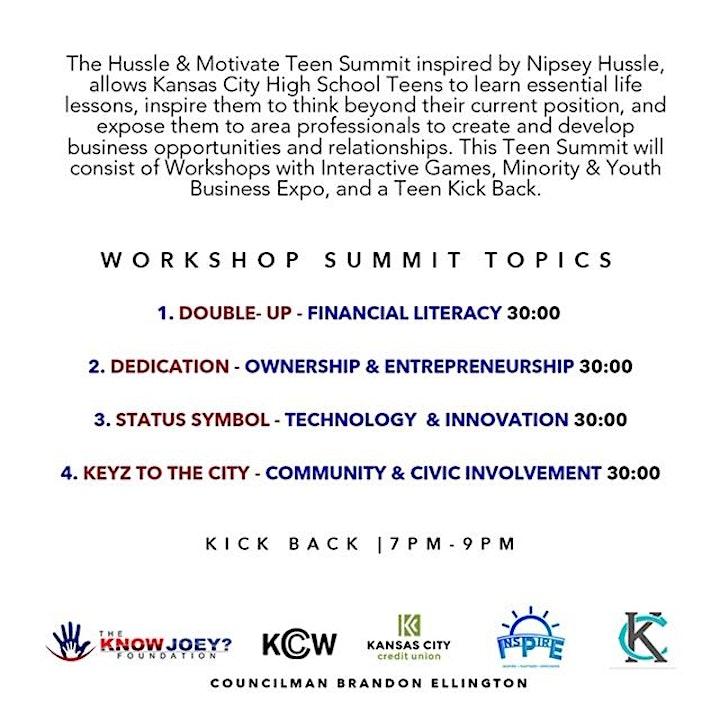 HUSTLE & MOTIVATE Teen Summit image