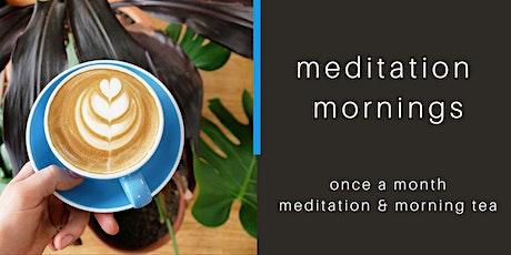 meditation mornings tickets