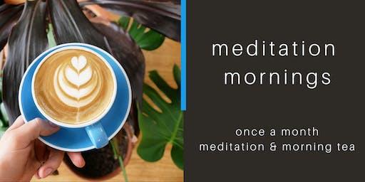 meditation mornings