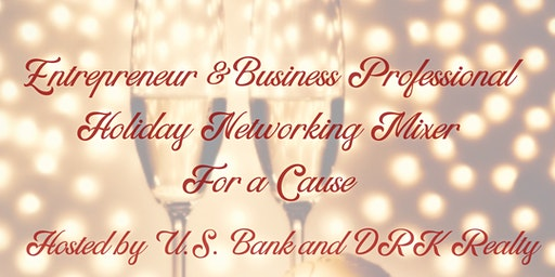 Entrepreneur and Business Professional Networking Holiday Mixer