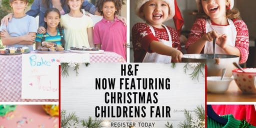 Vendors (Ages 7-17) Wanted for H&F Market Holiday Children' Fair