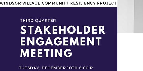 Stakeholder Engagement Meeting tickets