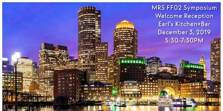 MRS FF02 Symposium Dinner Reception at Earl's Kitchen+Bar tickets
